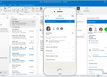 Dynamics 365 App for Outlook updated with several new features