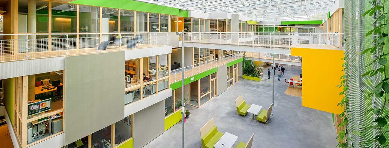 Centre des innovations de Microsoft France