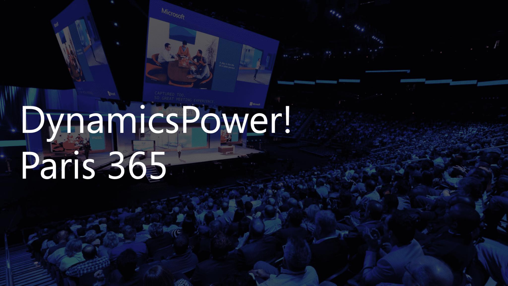 DynamicsPower! Paris 365