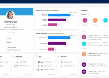 La vision de Microsoft de sa plateforme de données clients