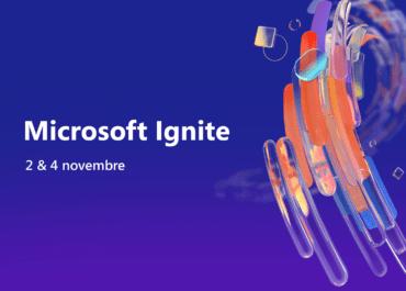 Microsoft Ignite 2 & 4 novembre